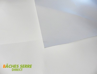 Bache serre tunnel de jardin 680g/m²  PVC - 8 x 9m  - serre plastique - serre tunnel