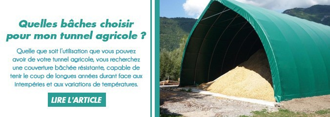 bache tunnel agricole